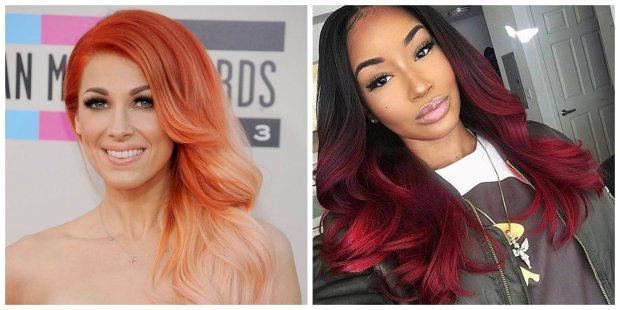 peinados de la mujer 2019, pelo anaranjado con estilo, pelo rojo de moda